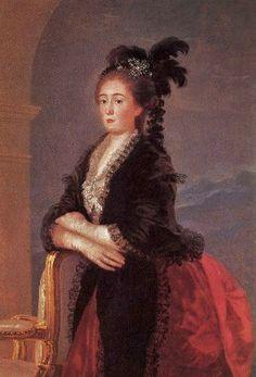 """M. Teresa Vallabriga"" by Francisco de Goya (1783)"