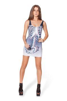 3D Ribs Dress