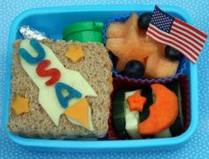 Bento lunches are so darn cutesie that it's tough to find something boyish enough to satisfy my little man. This is perfect!