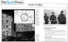 Maps4News in the Epoch Times, USA