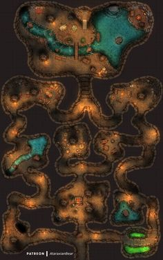 Fantasy Town, Fantasy Map, Fantasy Rpg Games, Building Map, Rpg Map, Map Pictures, Dungeon Maps, Tabletop Rpg, Map Design