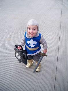 Kingston's Halloween costume... Knight Halloween Costume @Bonnie S. Wilcox