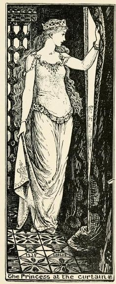 The Violet Fairy Book Illustrations by Henry Justice Ford