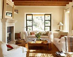 12 ideas para crear un salón más acogedor