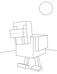 Minecraft Bajki Kolorowanki