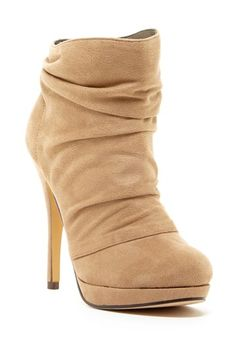 Michael Antonio Madalyn Ruched Bootie by Non Specific on @HauteLook