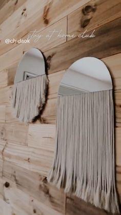 Diy Crafts For Home Decor, Diy Room Decor, Diy Wall Decorations, Boho Diy, Diy Wall Art, Diy Furniture, Sewing Diy, Diy Car, Air Freshener