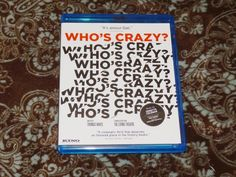 Who's Crazy (Blu-ray Disc, 2017) Kino Lorber Lost Art Film/Ornette Coleman Jazz!