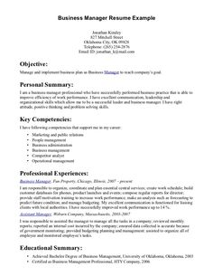 Business Manager Resume Amazing Management Resume Examples Livecareer General Manager