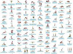 Yoga Poses Sanskrit Terms