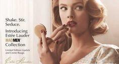 Vuelven los años 50 y 60 en maquillaje y Estée Lauder saca su linea Mad Men, ¡muy apropiado! Nos apuntamos