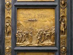 """""""Joshua"""", Porte del Paradiso by Lorenzo Ghiberti, Battistero di San Giovanni, Florence"""