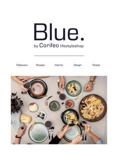 Fourth edition of lifestyle magazine Blue. by Corifeo elegant lifestyle store
