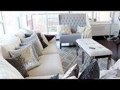 ▶ My Home Diary: Updated Apartment Tour! - YouTube Decoration Inspiration