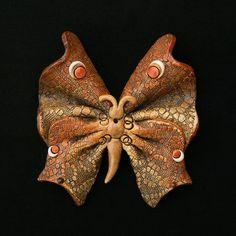 Motýl+malý+Keramický+závěsný+motýl+Rozměr:+výška+12cm