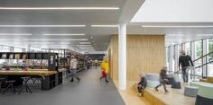 Bibliotheek – Deventer | Hanratharchitect Brainstorm, Conference Room, Table, Furniture, Home Decor, Decoration Home, Room Decor, Meeting Rooms, Tables