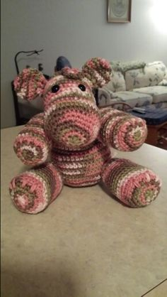 My completed hippo