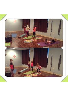 We started the year out in kids yoga doing an obstacle course. A great way to overcome obstacles for the coming year. Great fun! #kidsyoga #yoga #kids