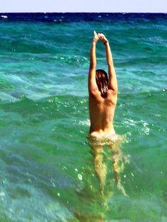 Skinny dipping! Atlantic, Gulf, Caribbean. Next up Mediterranean and Tyrrhenian.