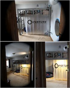 OMG PORTAL BEDROOM MUST HAVE IMMEDIATELY THIS IS THE COOLEST THING EVER IN THE HISTORY OF EARTH!!!!!!!