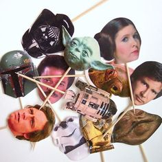 Star Wars Cupcake Toppers for your sweet and nerdy side - Gizmodiva.com