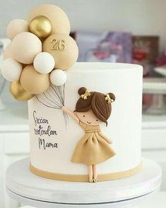 Beautiful Birthday Cakes, Beautiful Cakes, Amazing Cakes, Cake Decorating Techniques, Cake Decorating Tips, Pretty Cakes, Cute Cakes, Fondant Cakes, Cupcake Cakes