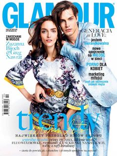 Glamour Poland February 2014 Cover (Glamour Poland)