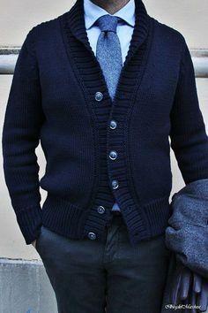 Fashion Tips For Men Jackets – Hijab Fashion 2020 Mens Fall Outfits, Simple Fall Outfits, Fall Fashion Outfits, Autumn Fashion, Mens Fashion, Fashion Menswear, Fashion Tips, Blue Cardigan Mens, Men Sweater