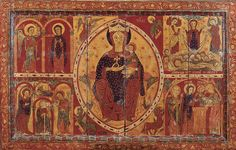 Anònim Frontal d'altar de la Mare de Déu del Coll  Tallers de Vic Últim quart del segle XII
