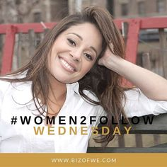 It's #Women2Follow Wednesday!  Today we are featuring our very own Karina Garden Jimenez! Karina has dedicated her career to developing and empowering Latina women and minority entrepreneurs as they seek to make their mark in the business world. Currently Karina is involved in a number of passion-fueled projects including being a founding partner of The Business of WE (Women Entrepreneurs) an invaluable resource for todays women entrepreneurs emphasizing collaborative connections; a leader…