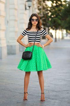 2014 여름 패션 트렌드 - 스트라이프 패션 스타일링
