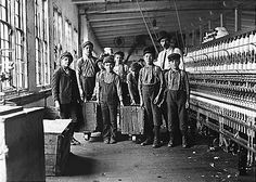 Child workers in Newton, NC cotton mill