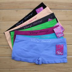 Seamless boxer short for women Nice bottom comfortable women underwear girl  panties boyshort sexy intimate lingerie 81627517e