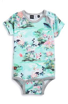 Molo 'Lucky Cat' Cotton Blend Bodysuit (Baby Girls) available at #Nordstrom