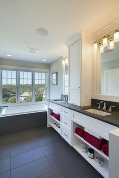 Tile laminate is perfect for kitchens or bathrooms faus for Perfect kitchen and bath quincy