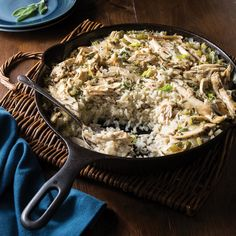 Chicken Bog This South Carolina classic is the perfect comfort food on a cold winter day. Chicken Bog, Chicken And Rice Dishes, How To Cook Chicken, Chicken Recipes, Chicken Rice, Southern Dishes, One Pot Meals, Main Meals, Food Allergies