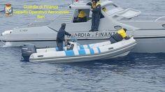 Lecce sequestrato gommone con marijuana a bordo: due arresti