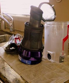 how to clean your dyson canister and filter
