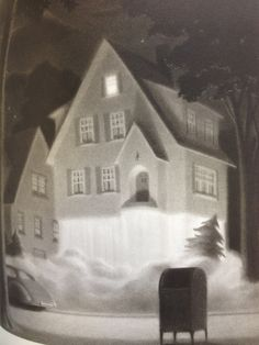 "The House on Maple Street: ""It was a perfect take-off."" From The Mysteries of Harris Burdick, by Chris Van Allsburg"