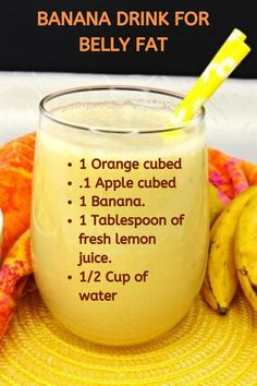 Amazing Banana Drinks That Melt Your Belly Fat In Just A Few Days Powerful Banana Drink For Extreme & Rapid Weight Loss ! Amazing Banana Drinks That Melt Your Belly Fat In Just A Few Days Powerful Banana Drink For Extreme & Rapid Weight Loss ! Weight Loss Drinks, Weight Loss Smoothies, Healthy Weight Loss, Fat Burning Detox Drinks, Fat Burning Foods, Banana Drinks, Lemon Drink, Good Fats, Diet And Nutrition