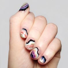 7 Coolest Negative Space Nails On Tumblr