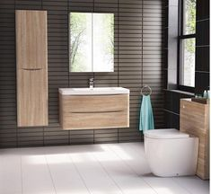 If it's contemporary style that you desire for your bathroom then look no further than this beautiful wall hung Ancona vanity from European manufacturer Bel Bagno. The brilliant combination of white oak finish cabinet and slab style basin is sure to impress. Plenty of handy storage completes the perfect picture of this delightful vanity.