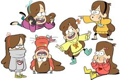 Mais artes do seriado Gravity Falls, do Disney Channel | THECAB - The Concept Art Blog