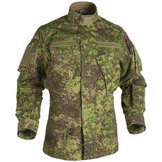 5d1e7ab9e5a Helikon Tactical Jacket Long Sleeve CPU Mens Combat Shirt Pencott Greenzone  Camo