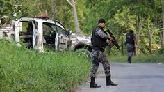 Bodies butchered, decapitated and burned after clashes between rival drug gangs at a prison complex in Amazonas state.