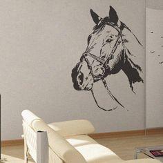 Horse - uBer Decals Wall Decal Vinyl Decor Art Sticker Removable Mural Modern A249