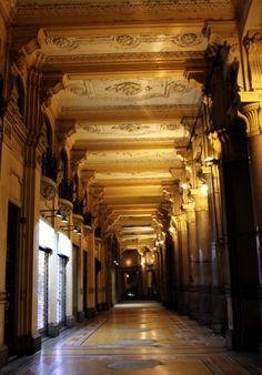 We walked through these corridors everday to the university TORINO (Piemonte) - Via Cernaia - by Guido Tosatto