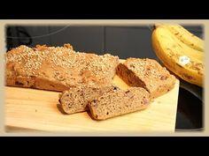 ▶ BANANENBROT - vegan, gesund, öl & zuckerfrei - Rezept - YouTube