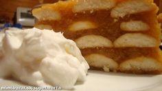 Jablkova torta s piskotami