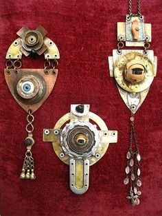 Masons on Acid Series Jewellery by urban don, via Flickr